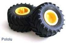 Tamiya 70096 Off-Road Tires (2 tires) POLOLU-64 Pololu Australia - Express Delivery Australia Wide (Feature image)