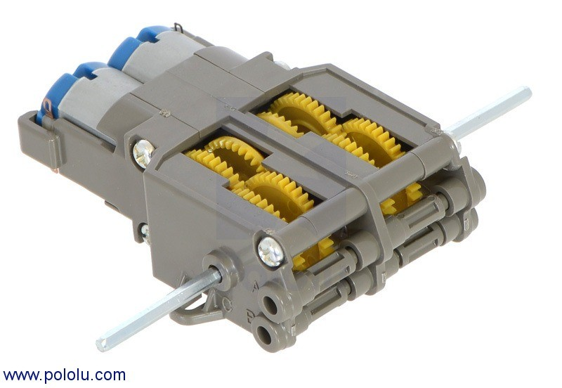 Tamiya 70097 Twin-Motor Gearbox Kit POLOLU-61 Pololu Australia - Express Delivery Australia Wide (Feature image)