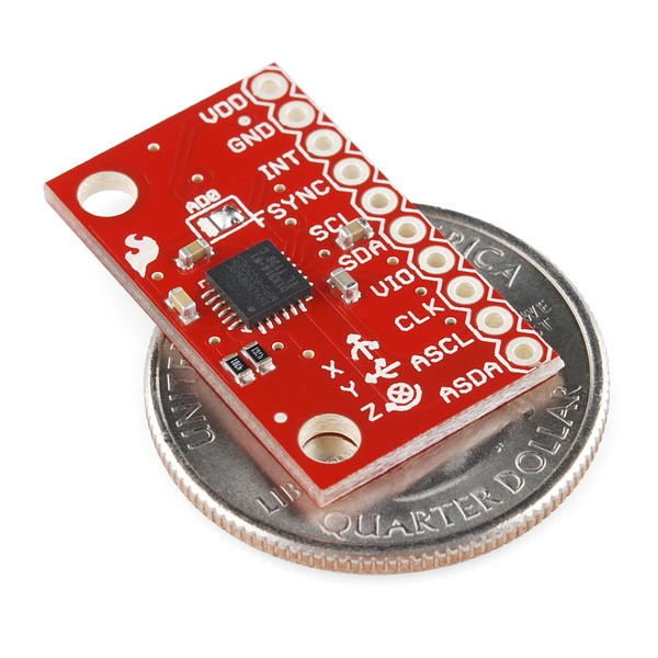 Triple Axis Accelerometer and Gyro Breakout - MPU-6050 SEN-11028 Sparkfun Australia - Express Delivery Australia Wide (Image 4)