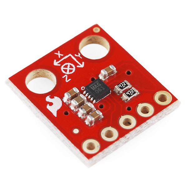 Triple Axis Magnetometer Breakout - MAG3110 SEN-10619 Sparkfun Australia - Express Delivery Australia Wide (Feature image)