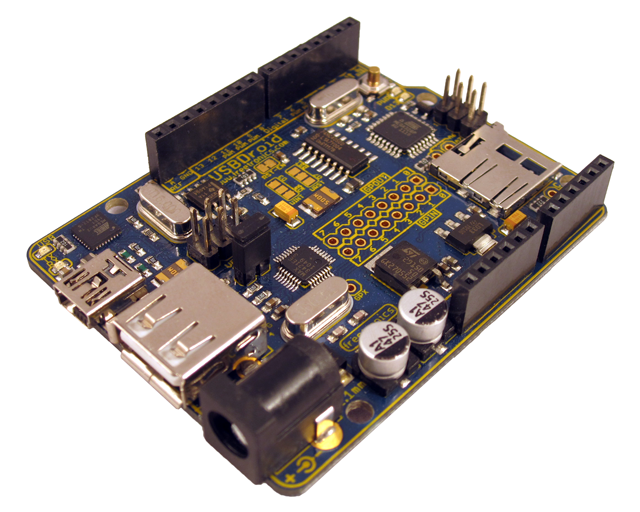 Freetronics USBDroid (Arduino Uno compatible with onboard Android/USB Host) CE04488 Freetronics Australia (Image 3)