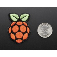 Raspberry Pi - Skill badge, iron-on patch ADA906 Adafruit in Australia - Express Delivery Australia Wide