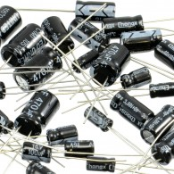 120 Pack of Electrolytic Capacitors (12 types, 10 of each) CE05130