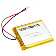 Polymer Lithium Ion Battery - 3.7V 2000mAh CE04378 Core Electronics Australia