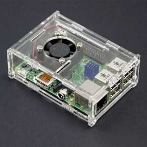 Ultimate  Case / Box / Enclosure Combo for Raspberry Pi B+ 018-018-RASP-PI+CASE2