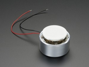 Large Surface Transducer with Wires - 4 Ohm 5 Watt ADA1784 Adafruit in Australia - Express Delivery Australia Wide