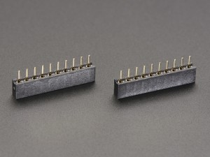 2mm 10 pin Socket Headers (for XBee) - Pack of 2 ADA366 Adafruit in Australia - Express Delivery Australia Wide