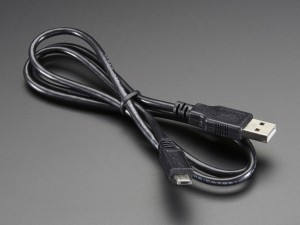 USB cable - A/MicroB - 3ft ADA592 Adafruit in Australia - Express Delivery Australia Wide