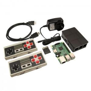 Retro Game Console (with NES Wireless Controllers!) CE04648 RetroPie Australia