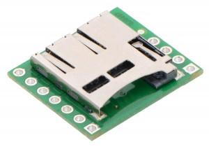 Breakout Board for microSD Card POLOLU-2597 Pololu Australia