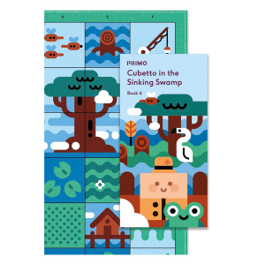 Cubetto - Adventure Pack Map & Story Book - Swamp CE04949 Primo Toys in Australia