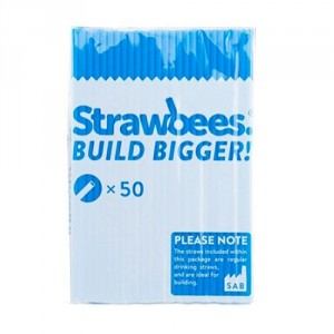 Strawbees Straws - Blue CE06049 Strawbees Educational Products - In Stock - In Australia
