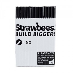 Strawbees Straws - Black CE06054 Strawbees Educational Products - In Stock - In Australia