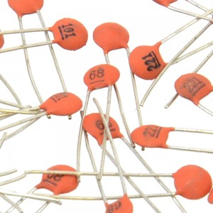 250 Pack of Ceramic Capacitors (25 types, 10 of each) 018-03-CER-CAP-PK