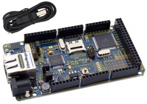 Freetronics EtherMega (100% Arduino Mega 2560 compatible with onboard Ethernet) CE04571 Freetronics Australia
