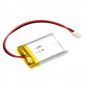 Polymer Lithium Ion Battery (LiPo) 3.7V 400mAh CE04375 Core Electronics Australia