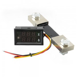 Dual Digital Display DC Voltmeter & Ammeter 0-100V 0-100A CE05132