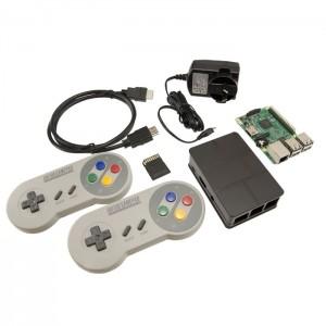 Retro Game Console (with SNES Wireless Controllers!) CE04622 RetroPie Australia