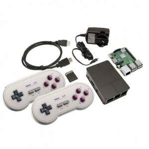 Retro Game Console (with SNES Wireless Controllers!) CE04622 RetroPie Australia