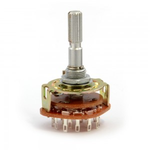 Rotary Switch - 4 Pole 3 Position (MBB) 003-ROTP4P3