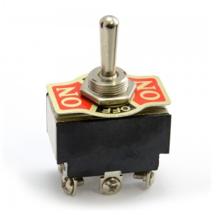 Extra Heavy Duty Toggle Switch DPDT 10A (on-off-on) 003-DPDT101H