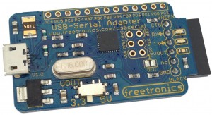Freetronics USB Serial Adapter CE04562 Freetronics in Australia
