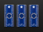SMT Breakout PCB for 32-QFN or 32-TQFP - 3 Pack! ADA1163 Adafruit in Australia - Express Delivery Australia Wide (Thumbnail 3)