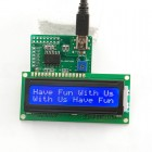 1602 LCD White Characters Blue Backlight & Demo Board HD44780 (16X2) 017-DE-LM12116 Sure Electronics Australia (Thumbnail 4)