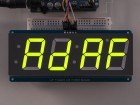 Adafruit 1.2 4-Digit 7-Segment Display w/I2C Backpack - Green ADA1268 Adafruit in Australia - Express Delivery Australia Wide (Thumbnail 4)