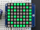 Small 1.2 8x8 Bright Square Pure Green LED Matrix + Backpack ADA1856 Adafruit in Australia - Express Delivery Australia Wide (Thumbnail 1)