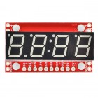 7-Segment Serial Display - Yellow COM-11443 Sparkfun Australia - Express Delivery Australia Wide (Thumbnail 1)