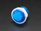 Mini LED Arcade Button - 24mm Translucent Blue ADA3432 Adafruit in Australia - Express Delivery Australia Wide (Thumbnail 1)