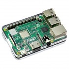 Slim Case For Raspberry Pi 3 Model B+ CE06233 Core Electronics Products - In Stock - In Australia (Thumbnail 1)