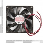 DC Brushless Fan - 80x80x15mm (12V) COM-11718 Sparkfun Australia - Express Delivery Australia Wide (Thumbnail 2)