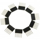 Stackable Header - 6 Pin FIT0147 DFRobot Australia - Express Post Australia Wide (Thumbnail 1)