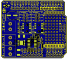Freetronics HBRIDGE Dual Channel H-Bridge Motor Driver Shield CE04566 Freetronics Australia (Thumbnail 5)