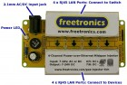 Freetronics 4-Channel Power-over-Ethernet Midspan Injector CE04497 Freetronics Australia (Thumbnail 2)
