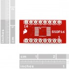 SSOP to DIP Adapter 16-Pin BOB-00498 Sparkfun Australia - Express Delivery Australia Wide (Thumbnail 2)