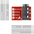 TRRS 3.5mm Jack Breakout BOB-11570 Sparkfun Australia - Express Delivery Australia Wide (Thumbnail 2)