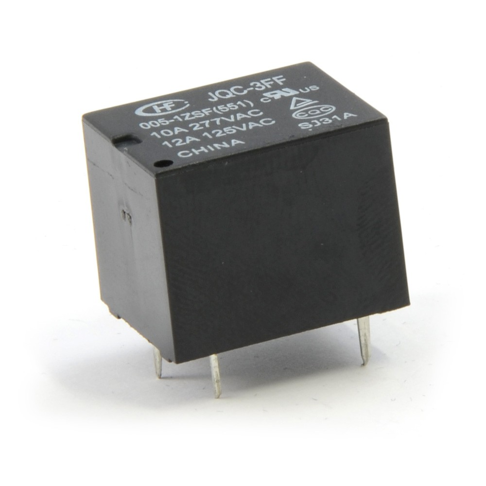 SPDT PC Mount Relay 5V 5A003-JQC-3FF-05  (Thumbnail 2)