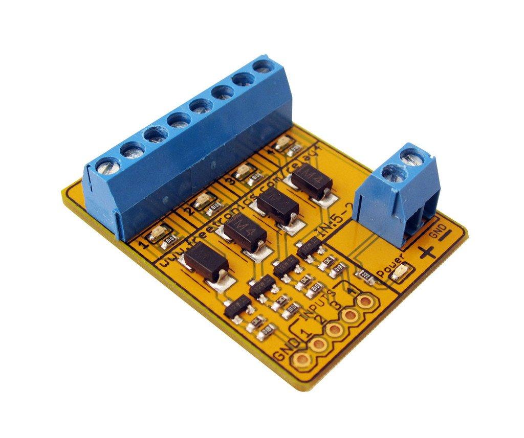 Freetronics 4 Channel Relay Driver Module Australia Mega Board Wiring Diagram