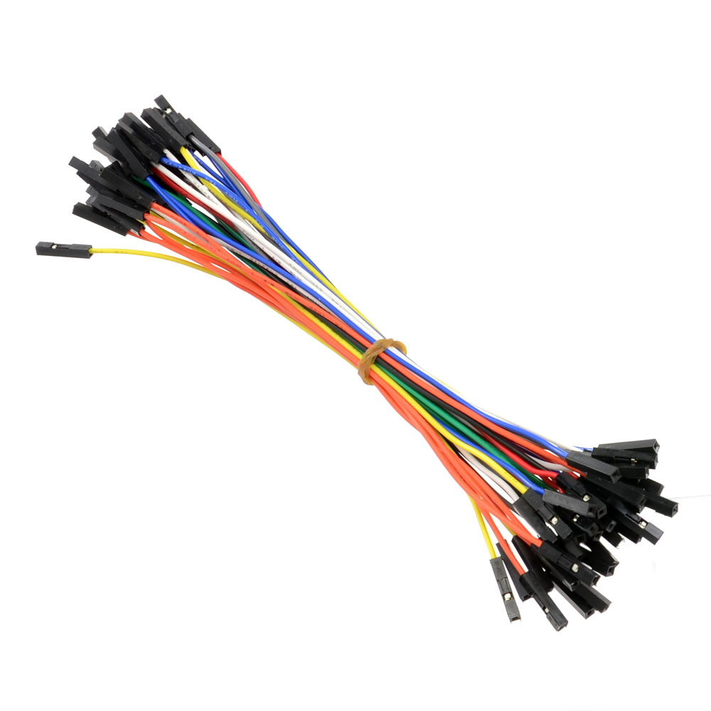 Electronics Cables And Wires : Solderless breadboard jumper cable wires female
