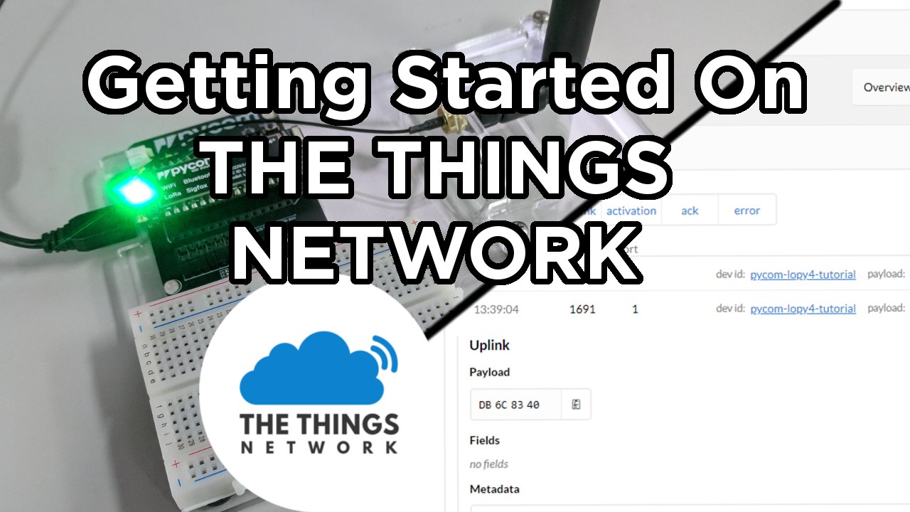 Getting Started on The Things Network - Tutorial Australia