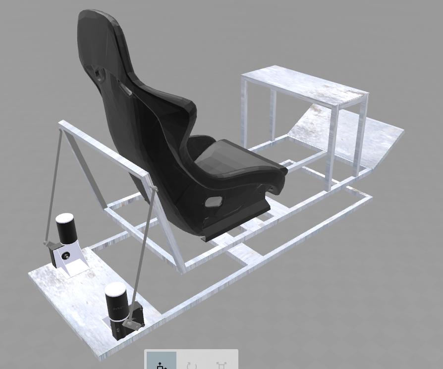 Projects - Racing Simulator Motion Platform Australia