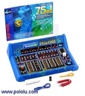 Elenco 75-In-One Electronic Project Lab Australia