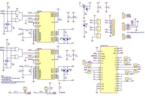 Pololu Dual Mc33926 Motor Driver Shield For Arduino Australia