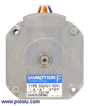Sanyo Pancake Stepper Motor Bipolar 200 Steps Rev 42 11