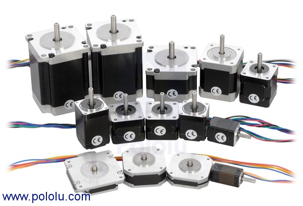 Stepper motor with 28cm lead screw bipolar 200 steps rev for Stepper motor position control