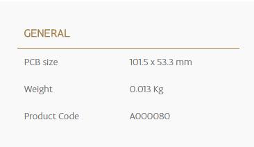 Arduino Mega Proto Shield Specs