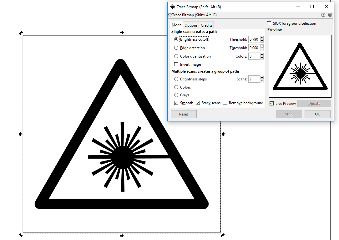 inkscape-trace-bitmap-dialog-settings